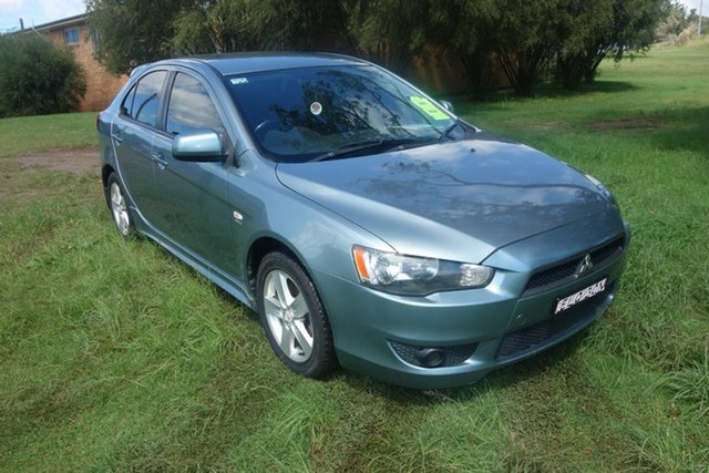 Used Mitsubishi Lancer CJ MY09 VR Sportback East Maitland, 2009 Mitsubishi Lancer CJ MY09 VR Sportback Blue 6 Speed Constant Variable Hatchback