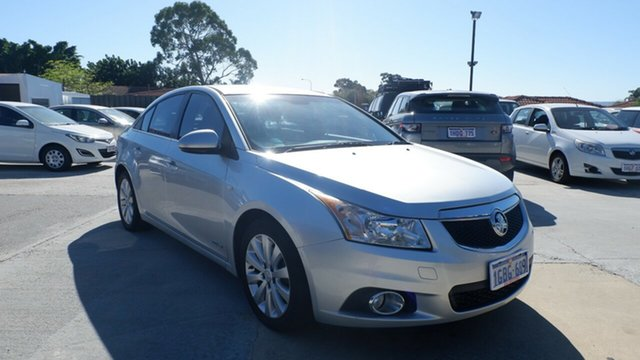 Used Holden Cruze JH Series II MY12 CD St James, 2012 Holden Cruze JH Series II MY12 CD Silver 6 Speed Sports Automatic Sedan