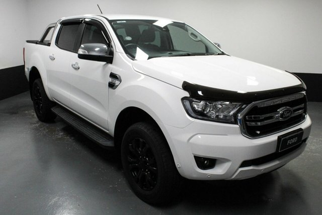 Used Ford Ranger PX MkIII 2019.75MY XLT Hamilton, 2019 Ford Ranger PX MkIII 2019.75MY XLT White 6 Speed Sports Automatic Double Cab Pick Up
