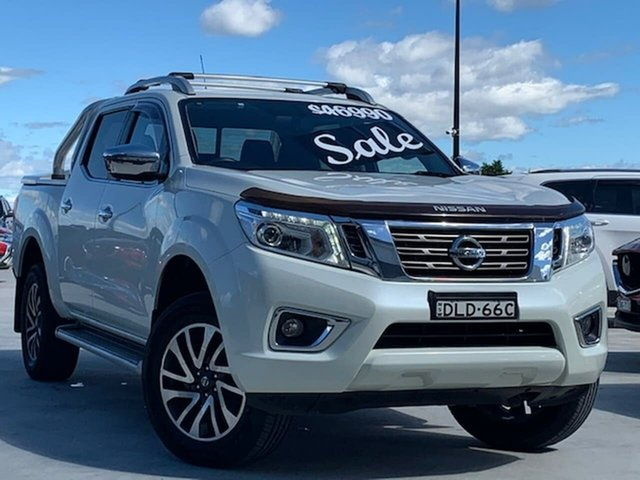 Used Nissan Navara D23 ST-X Liverpool, 2016 Nissan Navara D23 ST-X White 7 Speed Sports Automatic Utility