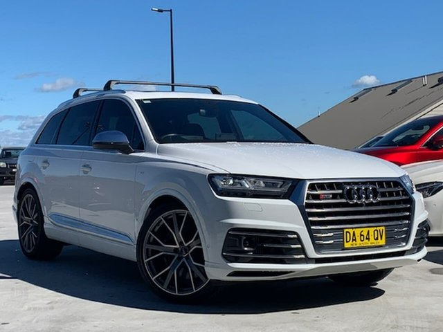 Used Audi SQ7 4M MY18 TDI Tiptronic Liverpool, 2018 Audi SQ7 4M MY18 TDI Tiptronic White 8 Speed Sports Automatic Wagon