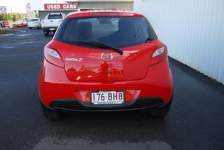 2013 Mazda 2 DE10Y2 MY13 Neo Red 4 Speed Automatic Hatchback