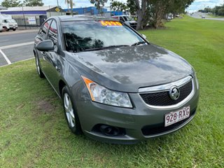 2011 Holden Cruze JH Series II MY11 CD Grey 6 Speed Sports Automatic Sedan.
