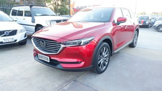 2021 Mazda CX-8 KG2W2A Asaki SKYACTIV-Drive FWD Red 6 Speed Sports Automatic Wagon.
