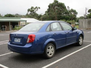 2005 Holden Viva JF Blue 4 Speed Automatic Sedan