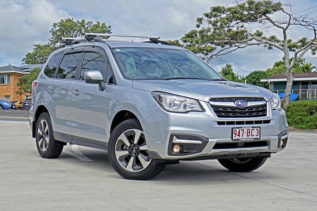 Used Subaru Forester S4 MY17 2.5i-L CVT AWD Capalaba, 2017 Subaru Forester S4 MY17 2.5i-L CVT AWD Ice Silver 6 Speed Constant Variable Wagon