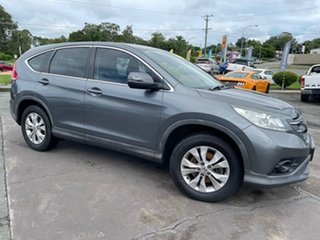 2014 Honda CR-V RM MY14 DTi-S 4WD Grey 6 Speed Manual Wagon.