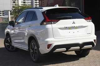2021 Mitsubishi Eclipse Cross YB MY21 Exceed 2WD Sterling Silver 8 Speed Constant Variable Wagon.