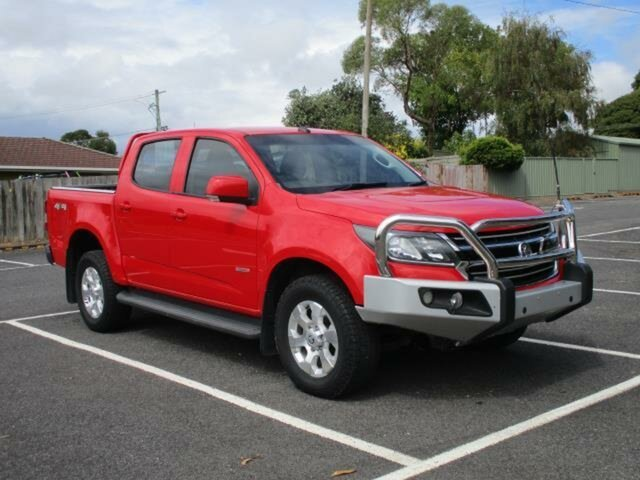 Used Holden Colorado Timboon, 2016 Holden Colorado RG Turbo LT 4x4 Red Automatic PICKUP CREWCAB