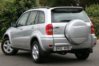 2002 Toyota RAV4 ACA21R Cruiser Silver 4 Speed Automatic Wagon
