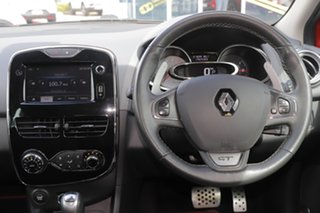 2014 Renault Clio IV B98 GT EDC Orange 6 Speed Sports Automatic Dual Clutch Hatchback