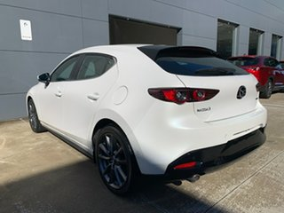 2021 Mazda 3 BP2H7A G20 SKYACTIV-Drive Evolve Snowflake White 6 Speed Sports Automatic Hatchback