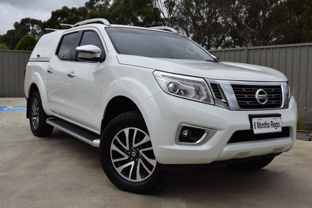 Used Nissan Navara D23 ST-X Echuca, 2016 Nissan Navara D23 ST-X White Diamond 7 Speed Sports Automatic Utility
