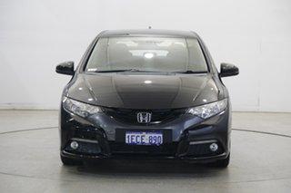 2012 Honda Civic 9th Gen VTi-L Black 5 Speed Sports Automatic Hatchback.