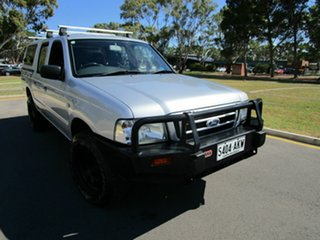 2006 Ford Courier Silver 5 Speed Manual Dual Cab.