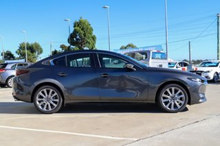 2021 Mazda 3 BP G20 Evolve Machine Grey 6 Speed Automatic Sedan.