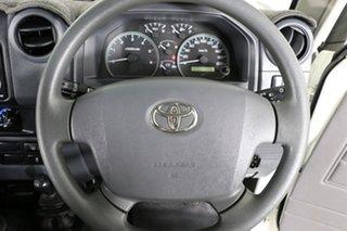 2019 Toyota Landcruiser VDJ76R MY18 Workmate (4x4) White 5 Speed Manual Wagon