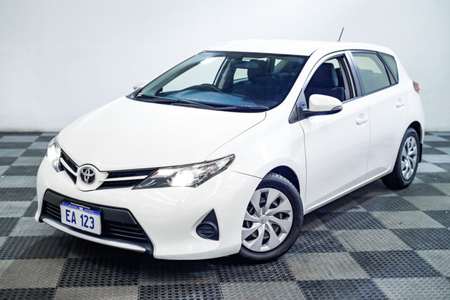 Used Toyota Corolla ZRE182R Ascent S-CVT Edgewater, 2015 Toyota Corolla ZRE182R Ascent S-CVT White 7 Speed Constant Variable Hatchback