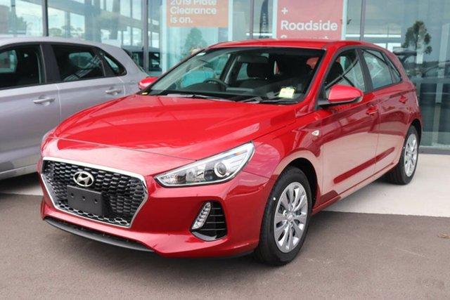 Used Hyundai i30 PD.3 MY20 Go Springwood, 2019 Hyundai i30 PD.3 MY20 Go Fiery Red 6 Speed Sports Automatic Hatchback