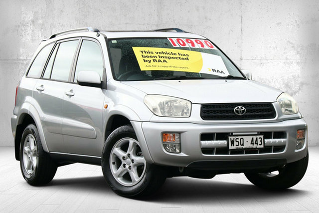 Used Toyota RAV4 ACA21R Cruiser Valley View, 2002 Toyota RAV4 ACA21R Cruiser Silver 4 Speed Automatic Wagon