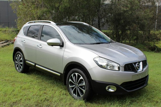 Used Nissan Dualis J10W Series 3 MY12 Ti-L X-tronic AWD Ormeau, 2013 Nissan Dualis J10W Series 3 MY12 Ti-L X-tronic AWD Silver 6 Speed Constant Variable Hatchback
