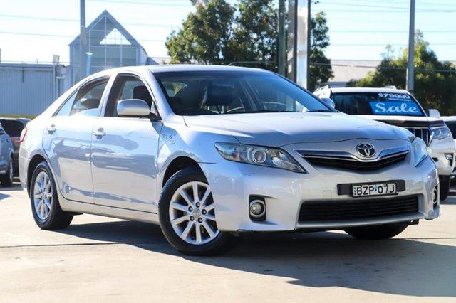 Used Toyota Camry AHV40R MY10 Hybrid Kirrawee, 2009 Toyota Camry AHV40R MY10 Hybrid Silver 1 Speed Constant Variable Sedan Hybrid