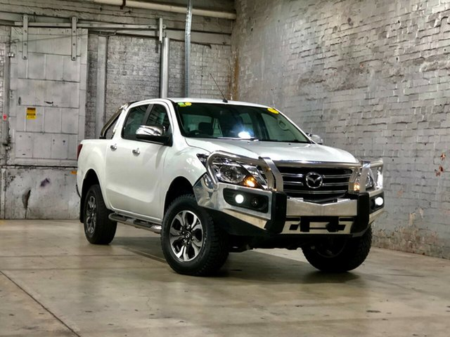 Used Mazda BT-50 UR0YG1 GT Mile End South, 2018 Mazda BT-50 UR0YG1 GT White 6 Speed Manual Utility