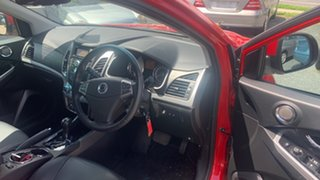 2015 Ssangyong Korando Red 5 Speed Automatic Wagon