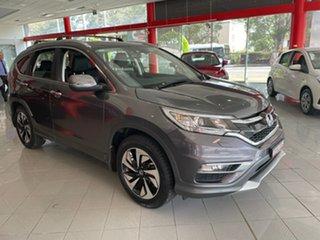 2016 Honda CR-V RM Series II MY17 VTi-L 4WD Grey 5 Speed Sports Automatic Wagon