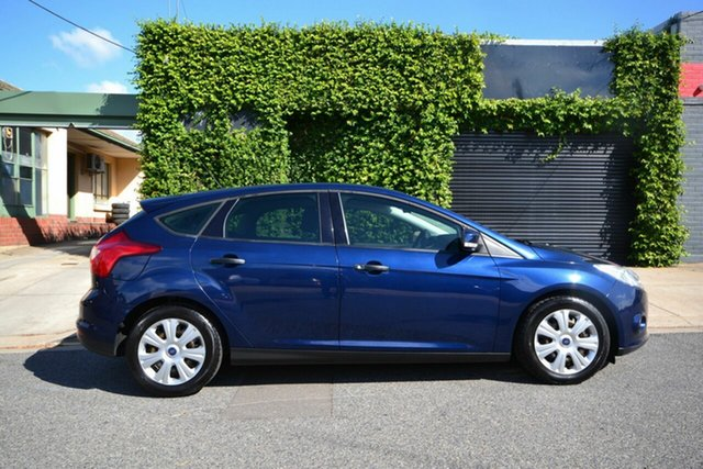 Used Ford Focus LW Ambiente Blair Athol, 2011 Ford Focus LW Ambiente Blue 6 Speed Automatic Hatchback