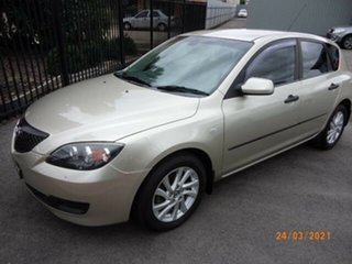 2004 Mazda 3 BK Neo Gold 4 Speed Auto Activematic Hatchback.