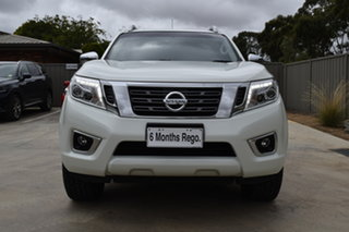 2016 Nissan Navara D23 ST-X White Diamond 7 Speed Sports Automatic Utility.