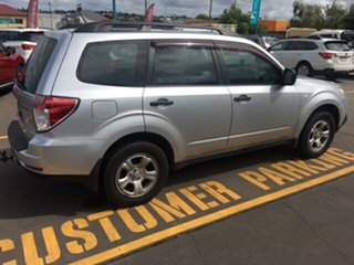 2008 Subaru Forester MY09 X Silver 4 Speed Auto Elec Sportshift Wagon.