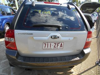 2005 Kia Sportage KM Silver 4 Speed Sports Automatic Wagon