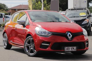 2014 Renault Clio IV B98 GT EDC Orange 6 Speed Sports Automatic Dual Clutch Hatchback.