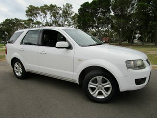 2010 Ford Territory SY SERIERS 11 TX White Automatic Wagon.