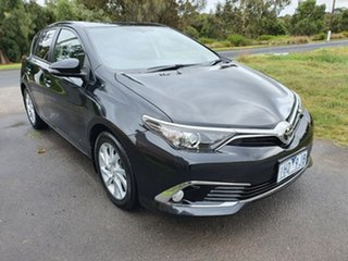2016 Toyota Corolla ZRE182R Ascent Sport Black Constant Variable Hatchback.