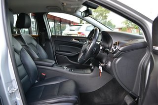 2012 Mercedes-Benz B-Class W246 B200 CDI BlueEFFICIENCY DCT Silver 7 Speed.