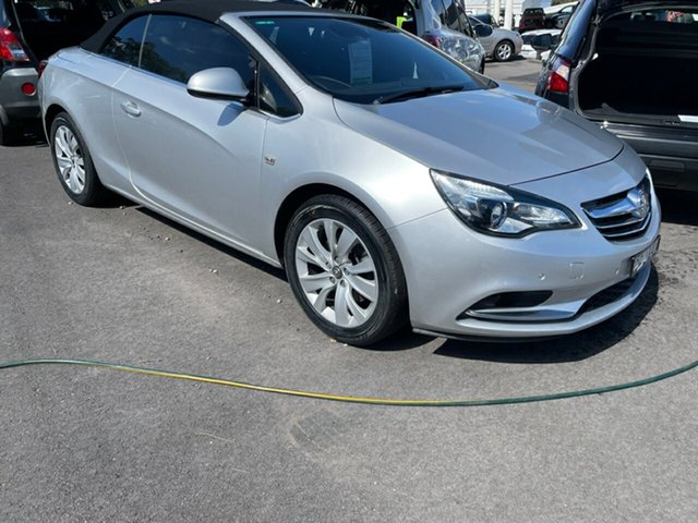 Used Holden Cascada CJ MY15.5 Maitland, 2015 Holden Cascada CJ MY15.5 Silver 6 Speed Sports Automatic Convertible