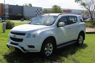 2013 Holden Colorado 7 RG MY13 LTZ White 6 Speed Sports Automatic Wagon.