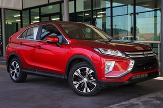 2019 Mitsubishi Eclipse Cross YA MY19 ES 2WD Red 8 Speed Constant Variable Wagon.