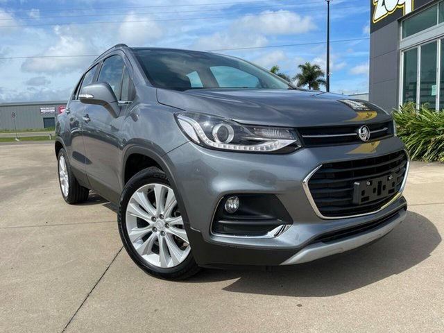 Used Holden Trax TJ MY19 LTZ Townsville, 2019 Holden Trax TJ MY19 LTZ Grey/231219 6 Speed Automatic Wagon
