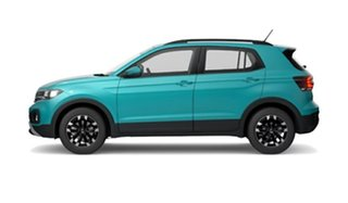 2021 Volkswagen T-Cross C1 MY21 85TSI DSG FWD Life Makena Turquoise Metallic 7 Speed.