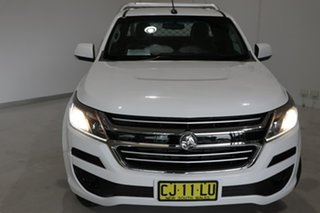 2016 Holden Colorado RG MY17 LS Space Cab White 6 Speed Manual Cab Chassis