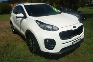 2017 Kia Sportage QL MY17 SLi 2WD White 6 Speed Sports Automatic Wagon.