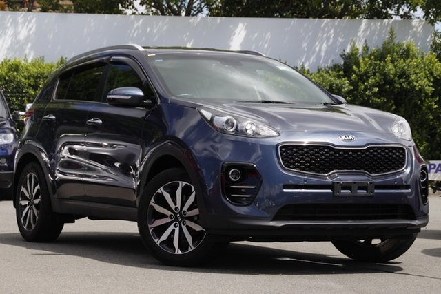 Used Kia Sportage QL MY16 SLi 2WD Mount Gravatt, 2016 Kia Sportage QL MY16 SLi 2WD Blue 6 Speed Sports Automatic Wagon