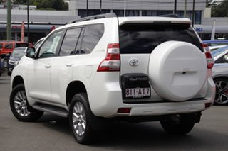 2014 Toyota Landcruiser Prado KDJ150R MY14 VX White 5 Speed Sports Automatic Wagon.