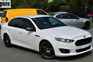 2016 Ford Falcon FG X XR6T White 6 Speed Auto Seq Sportshift Sedan.