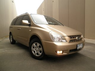 2008 Kia Carnival VQ MY08 EXE Champagne Beige 4 Speed Sports Automatic Wagon.