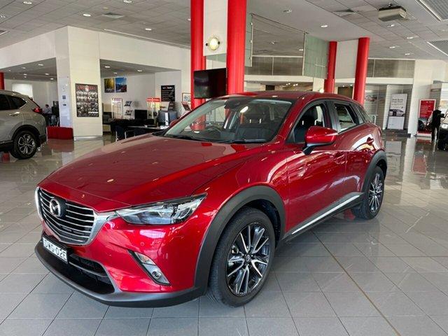 Used Mazda CX-3 DK2W7A Akari SKYACTIV-Drive Artarmon, 2018 Mazda CX-3 DK2W7A Akari SKYACTIV-Drive Red 6 Speed Sports Automatic Wagon